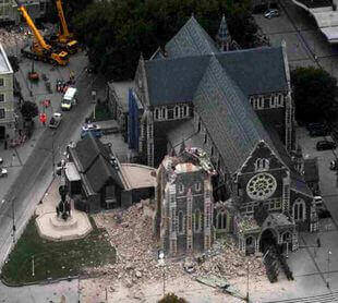 Erdbeben In Neuseeland